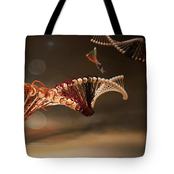 Infected Tote Bag by ADAM VANCE