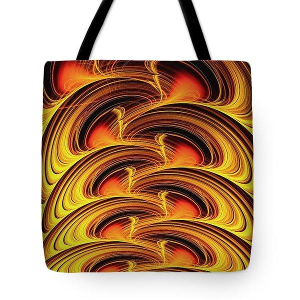 Inferno Tote Bag by Anastasiya Malakhova