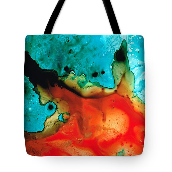 Infinite Color - Abstract Art By Sharon Cummings Tote Bag by Sharon Cummings