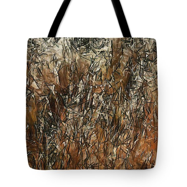 Infinite Meadows Tote Bag by Ayse Deniz