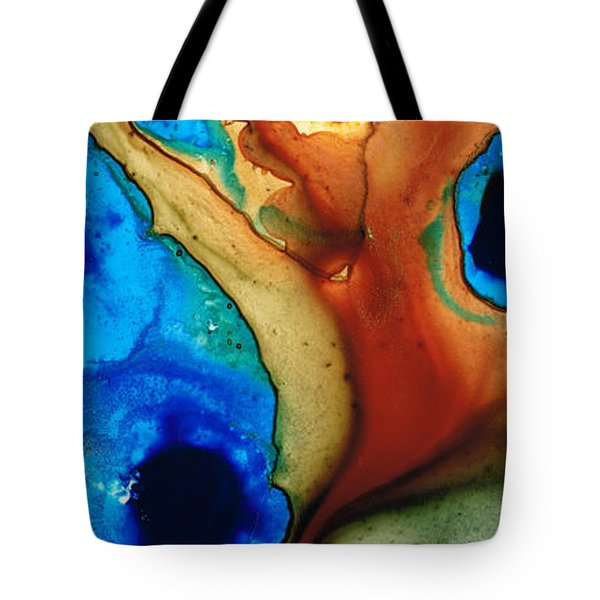 Infinity Of Life Tote Bag by Sharon Cummings