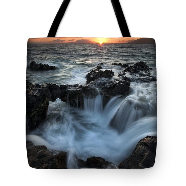 Influx Tote Bag by Mike  Dawson