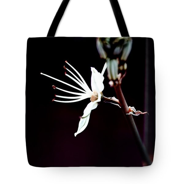 infrared Asphodel Tote Bag by Stylianos Kleanthous