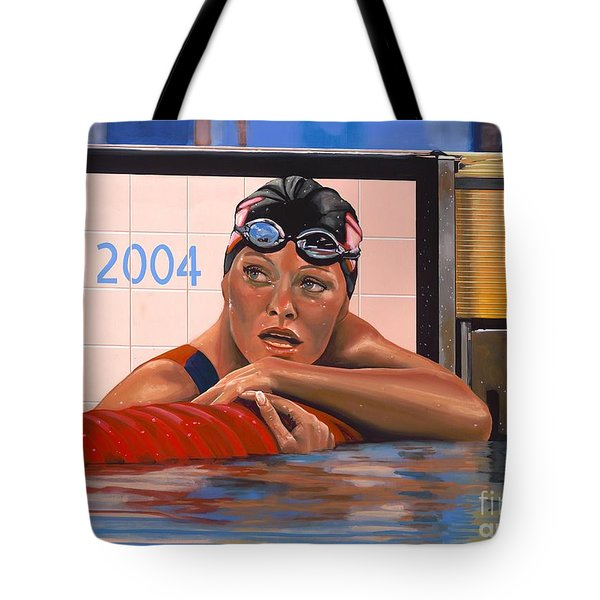 Inge de Bruijn Tote Bag by Paul Meijering