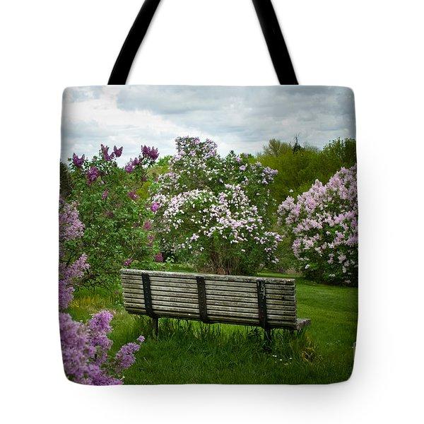 Inhale Tote Bag by Ken Marsh