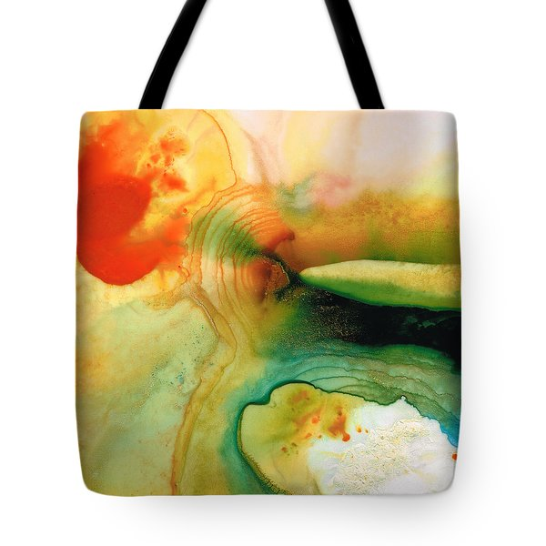 Inner Strength - Abstract Painting By Sharon Cummings Tote Bag by Sharon Cummings