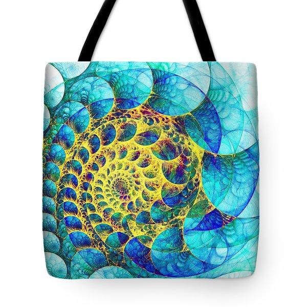 Inner Structure Tote Bag by Anastasiya Malakhova