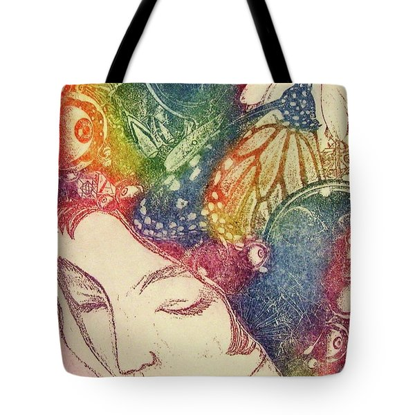Inner Thoughts Tote Bag by Juliann Sweet