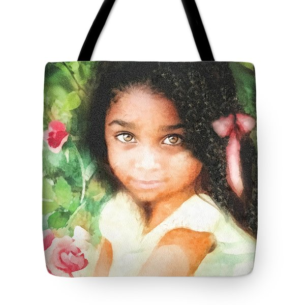 Innocence Tote Bag by Mo T