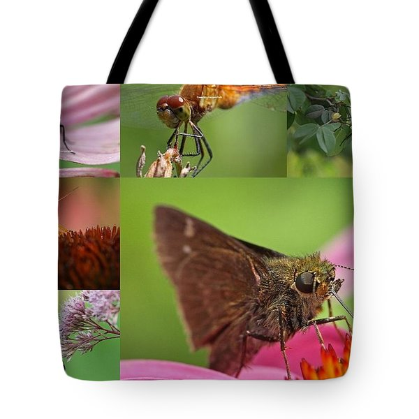 Insect Macro Photography Art Tote Bag by Juergen Roth