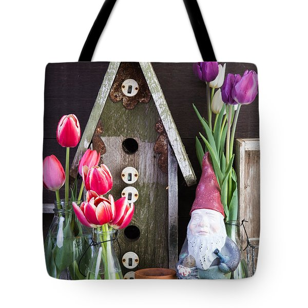 Inside the Garden Shed Tote Bag by Edward Fielding