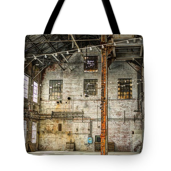 Inside The Old Sugar Mill Tote Bag by Agrofilms Photography