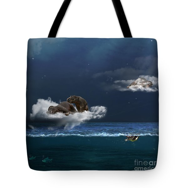 Insomnia Tote Bag by Martine Roch