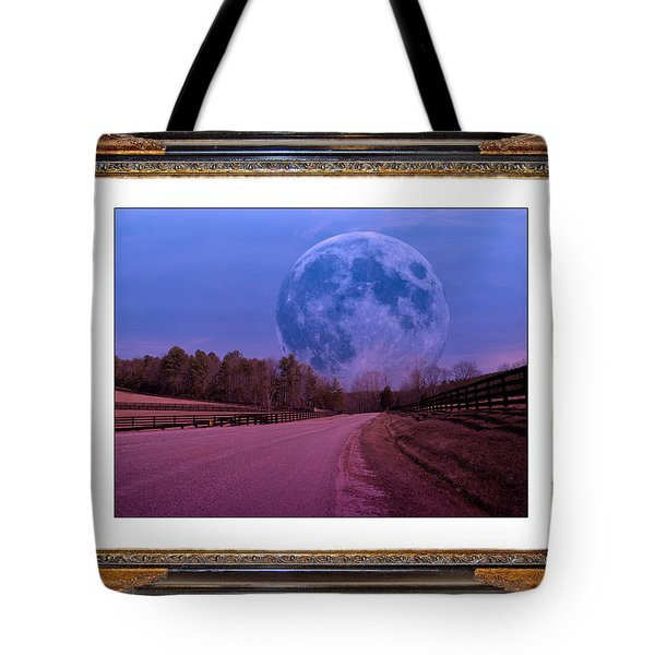 Inspiration in the Night Tote Bag by Betsy A  Cutler