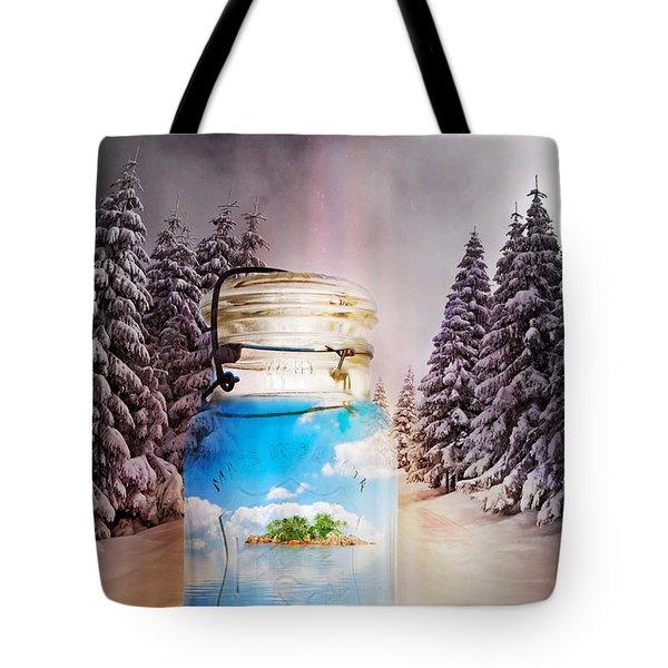 Instant Getaway Tote Bag by Terry Fleckney