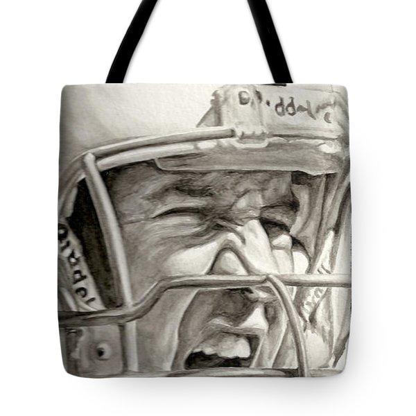 Intensity Peyton Manning Tote Bag by Tamir Barkan