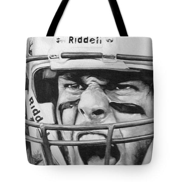 Intensity Tom Brady Tote Bag by Tamir Barkan