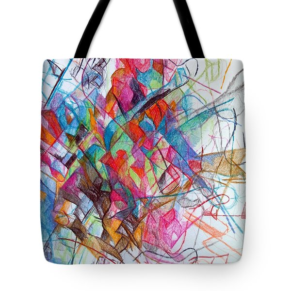 Interchange between Ambition and Restraint 2 Tote Bag by David Baruch Wolk