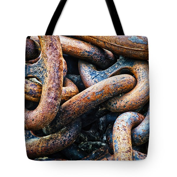 Interlocked Tote Bag by Christi Kraft