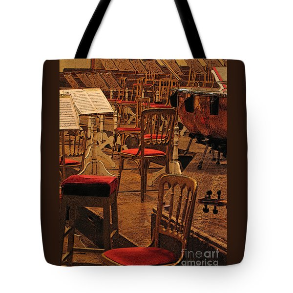 Intermission Tote Bag by Ann Horn