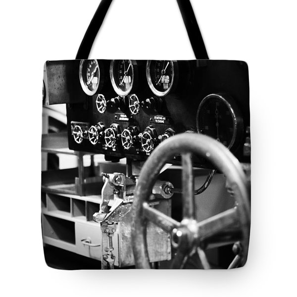Internal Mechanics Uss Bowfin V4 Tote Bag by Douglas Barnard