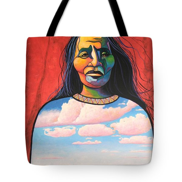 Into Her Spirit Tote Bag by Joe  Triano