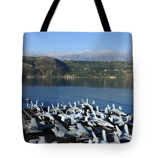 Into Port Tote Bag by Mountain Dreams