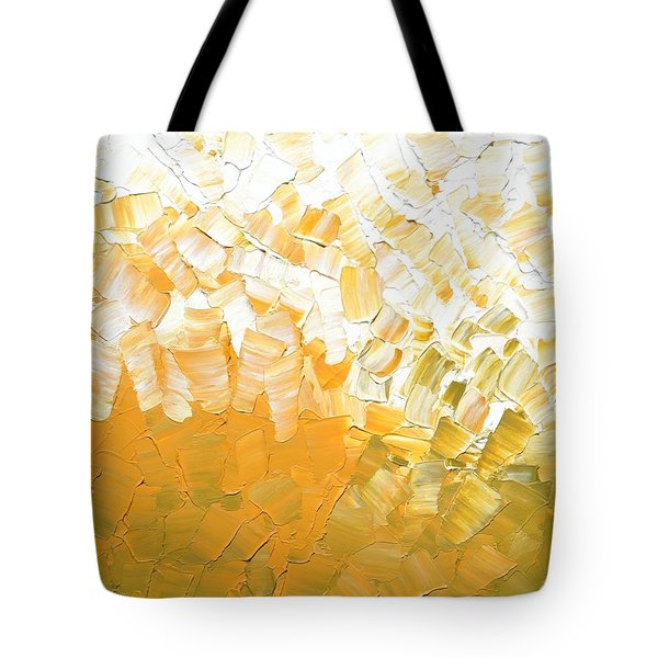Into The Light Tote Bag by Linda Bailey