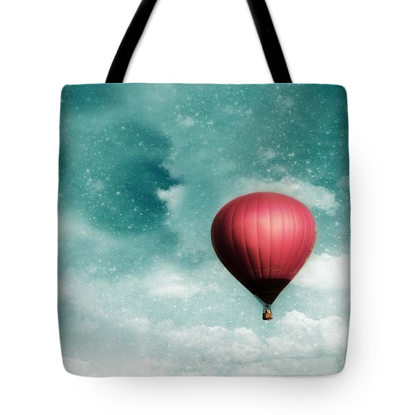 Into the Night Tote Bag by Amy Tyler