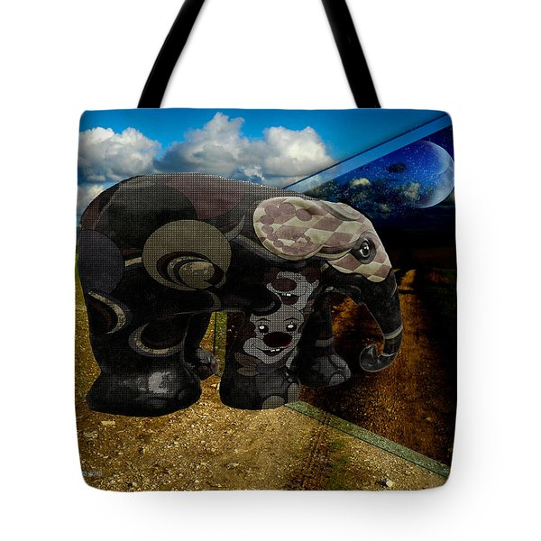 Into The Night Tote Bag by EricaMaxine  Price