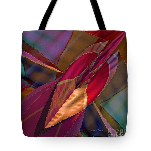 Into The Soul Tote Bag by Deborah Benoit