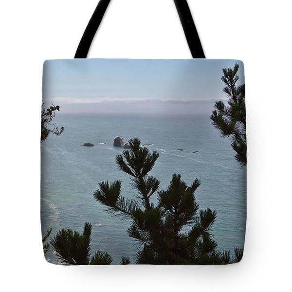 Into The Wild Blue Tote Bag by Heidi Smith