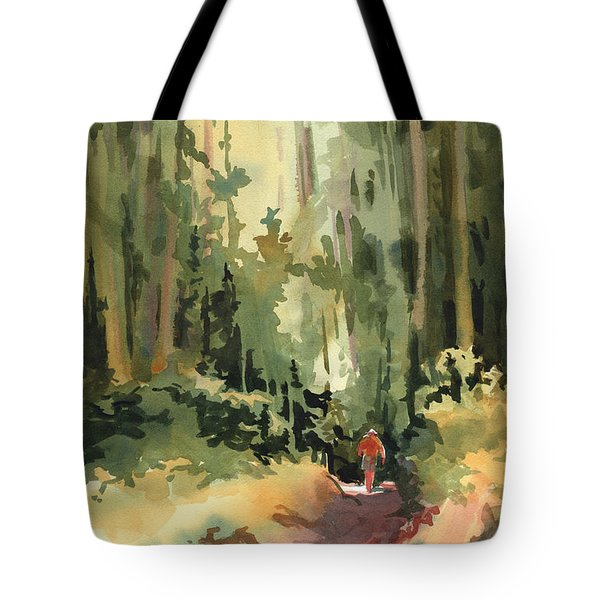 Into The Wild Tote Bag by Kris Parins