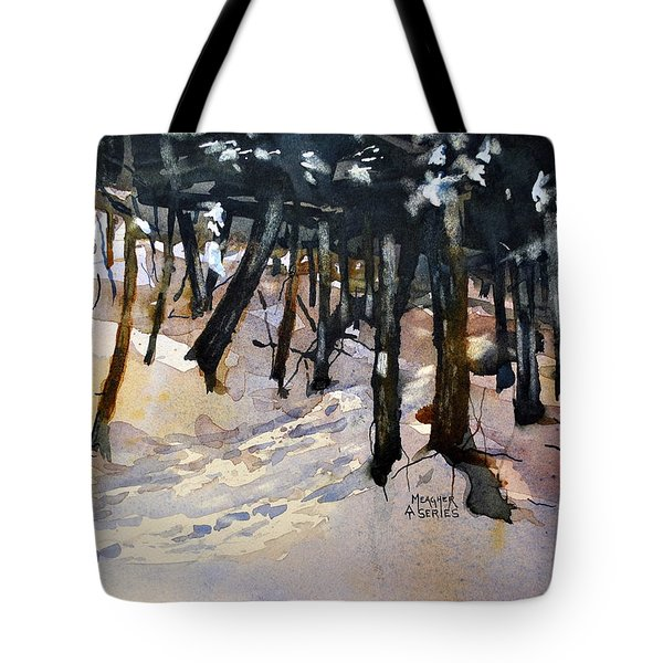 Into The Woods Tote Bag by Spencer Meagher