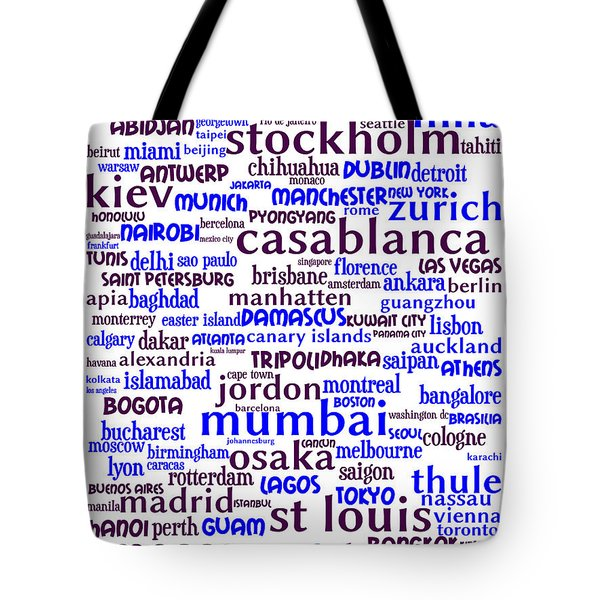 Intransit 20130625whi Tote Bag by Wingsdomain Art and Photography