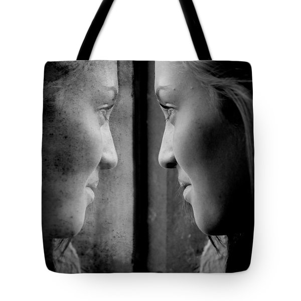 Introspection Tote Bag by Lisa Knechtel