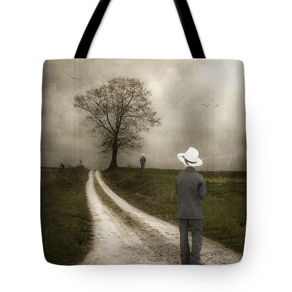 Introspection Tote Bag by Tom Mc Nemar