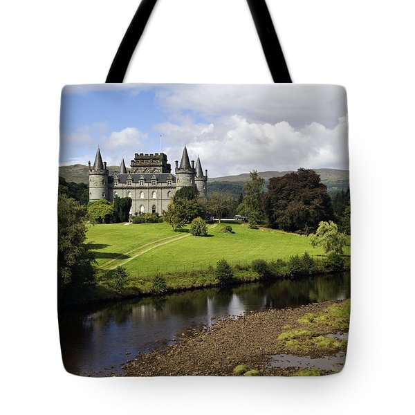 Inveraray Castle - D002464 Tote Bag by Daniel Dempster