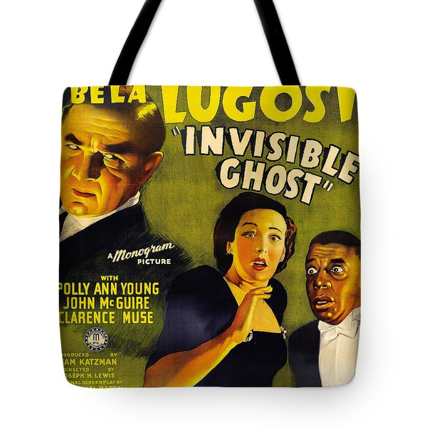 Invisible Ghost Tote Bag by Monogram Pictures