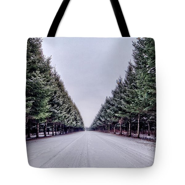 Invitation From The Pines Tote Bag by Everet Regal
