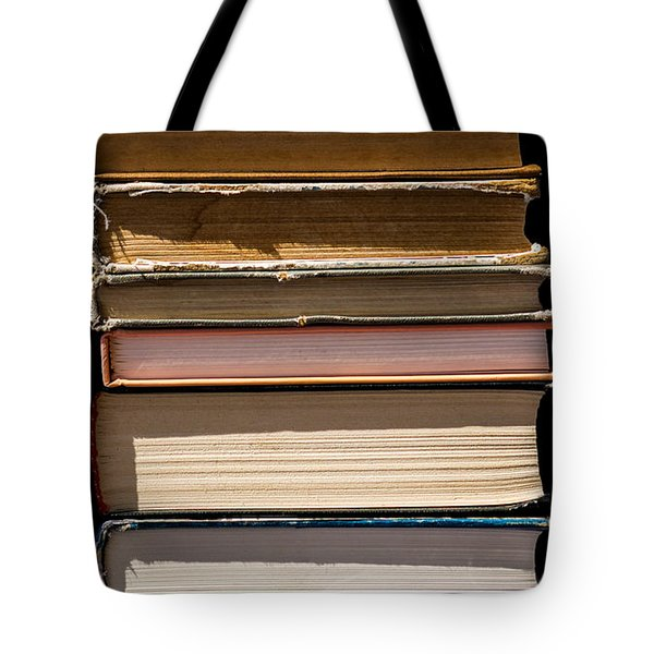 iPhone Case - Pile Of Books Tote Bag by Alexander Senin