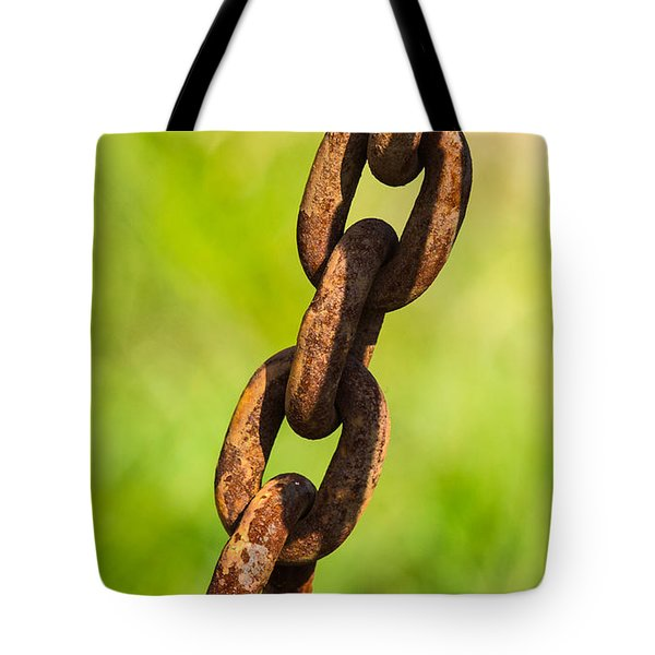iPhone Case - Rusty Chain Tote Bag by Alexander Senin