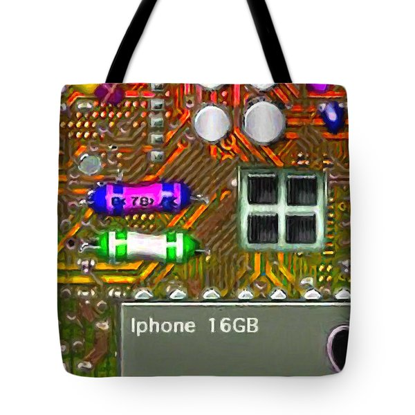 Iphone I-art m118 Tote Bag by Wingsdomain Art and Photography
