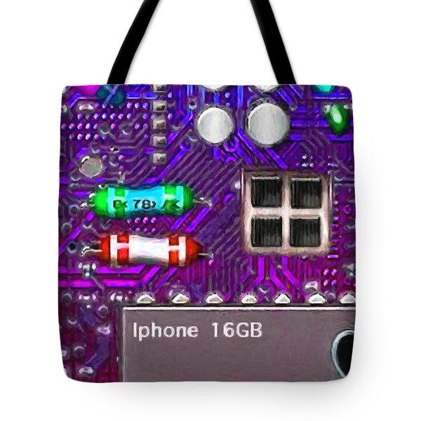 Iphone I-art p128 Tote Bag by Wingsdomain Art and Photography