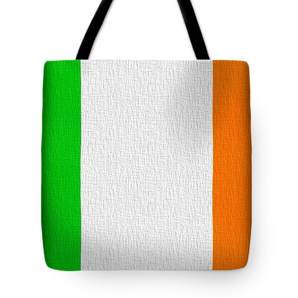 Ireland Flag Tote Bag by Dan Sproul