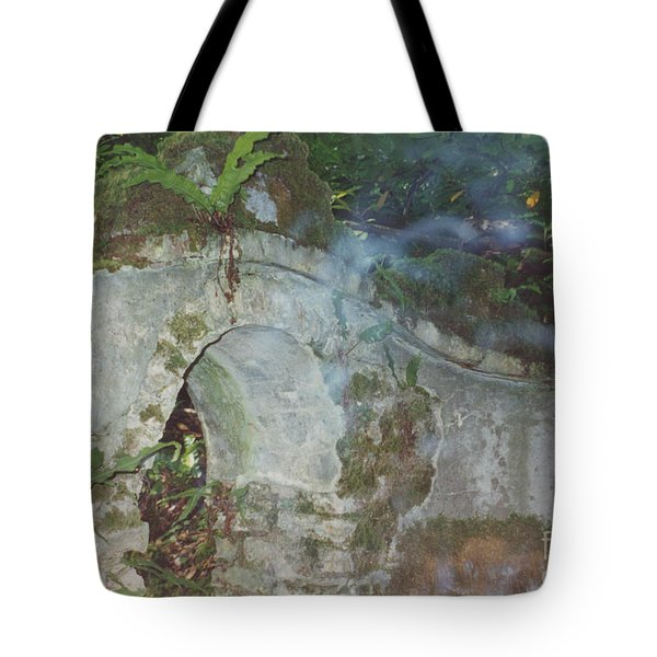 Ireland Ghostly Grave Tote Bag by First Star Art