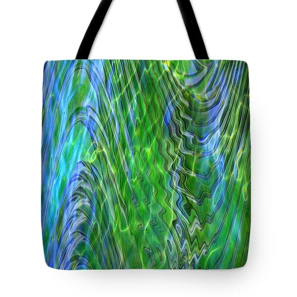 Iridescence Tote Bag by Carol Groenen