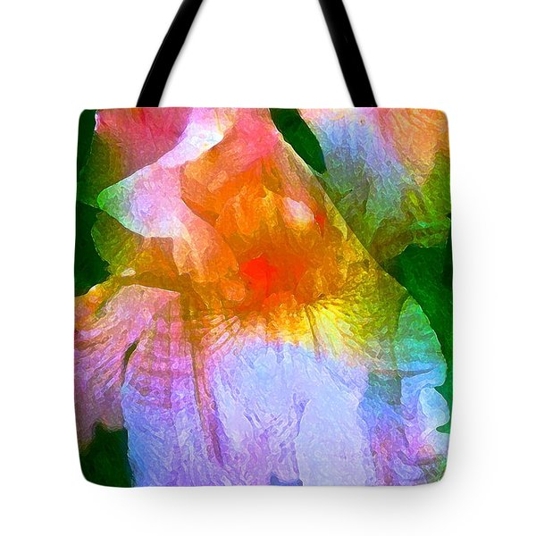 Iris 53 Tote Bag by Pamela Cooper