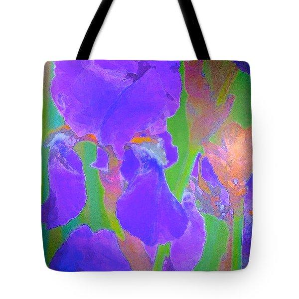 Iris 59 Tote Bag by Pamela Cooper