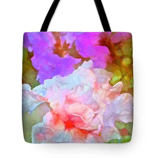 Iris 60 Tote Bag by Pamela Cooper